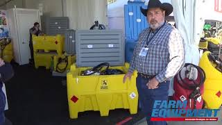 New Carry Tank Stackable And Portable Diesel And DEF Dual Containment System