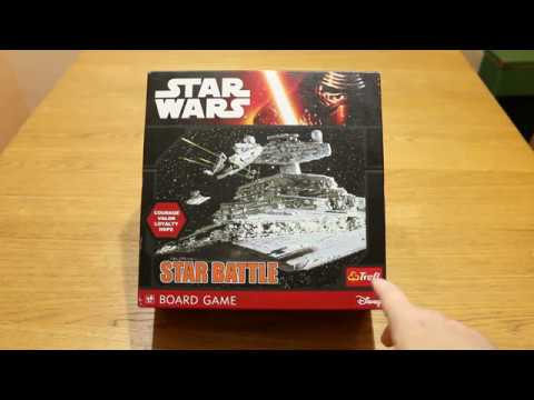 Star wars - Star Battle társasjáték bemutató - mrakostube
