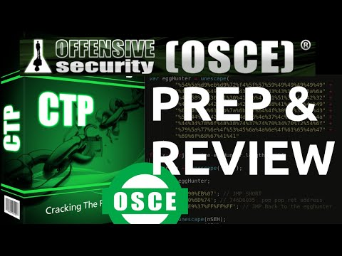 OSCE - PREP and REVIEW - Offensive Security Certified EXPERT ...