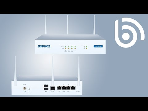 Sophos XG 105 TotalProtect UTM Firewall Appliance w/ 3-Year