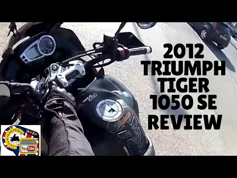 2012 Triumph Tiger 1050 SE review and ANOTHER moan