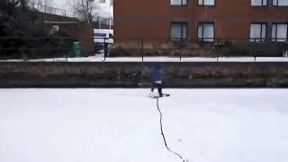 Зимние приколы на льду и на снегу