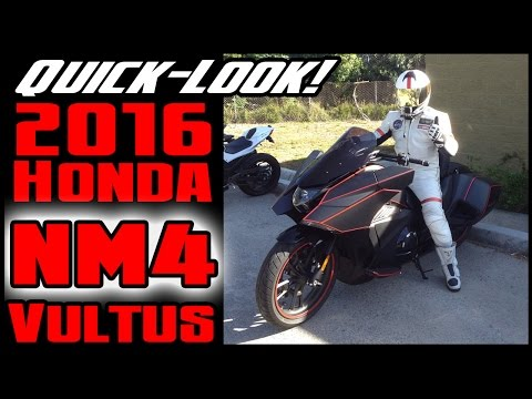 Quick Look: 2016 Honda NM4 Vultus