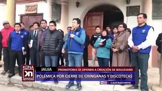 JAUJA: POLÉMICA POR CIERRE DE CHINGANAS Y DISCOTECAS