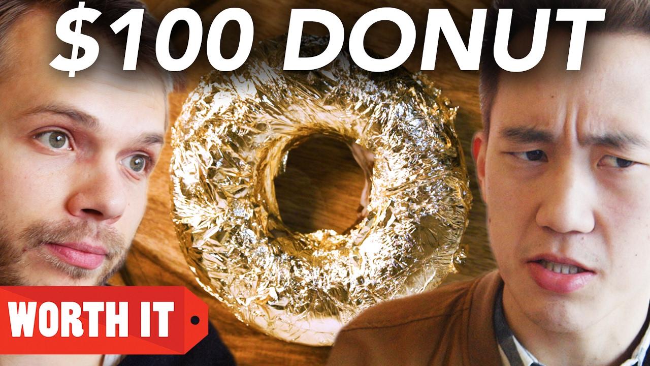 $1 Donut Vs. $100 Donut thumbnail