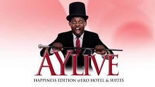 HAPPINESS MOMENTS AT AY LIVE, LAGOS 2014