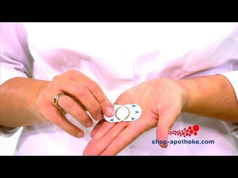 Die richtige Anwendung von Compeed Herpespflastern