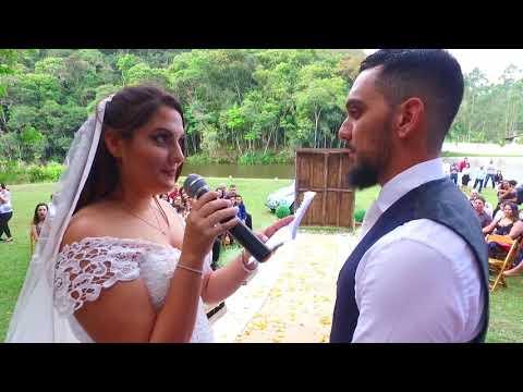 Lindas Imagens do Casamento de Elen e Bruno