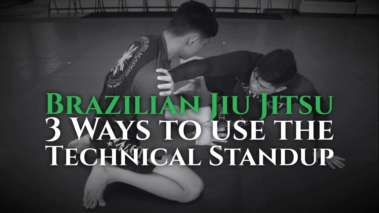 3 Ways to Use Brazilian Jiu Jitsu's Technical Stand Up