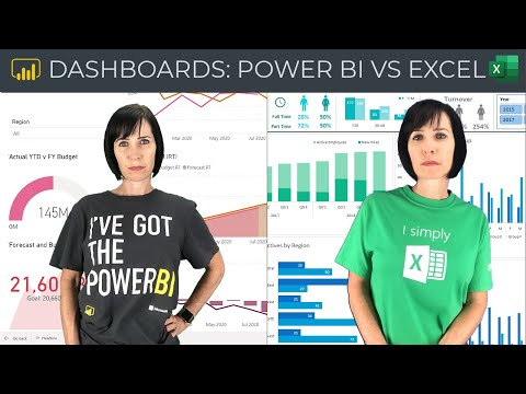 Power BI vs Excel Dashboards - And the winner is...