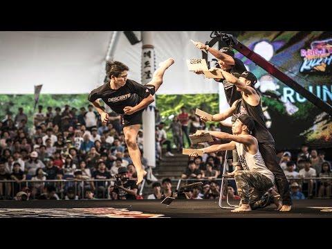 הרגעים הטובים ביותר מתחרות אמנויות הלחימה של רדבול