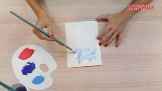 DIY Tempera Alpino: ¡Pinta con cera invisible! / Paint with invisible wax!