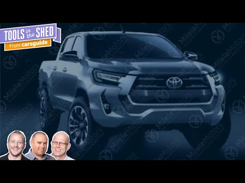 Podcast: The 2021 Toyota HiLux - everything we know so far - Tools in the Shed ep. 131