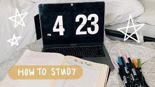 How To Study For College Finals // Study Tips & Tricks // Michigan State University