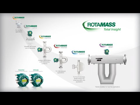 Rotamass: Total Insight; Flowmeter