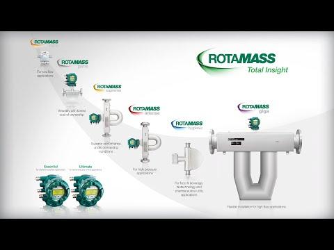 Rotamass: Total Insight; Flowmeter
