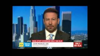 Los Angeles Criminal Defense Attorney RJ Manuelian on HLN News