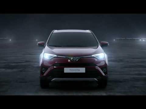 Toyota  Rav4 Кроссовер класса J - рекламное видео 1