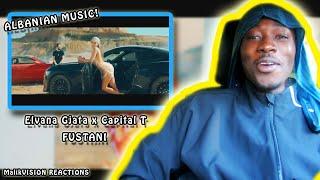 Albanian Music REACTION! Elvana Gjata X Capital T   Fustani Reaction! | MalikVISION