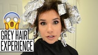 GREY HAIR (GONE WRONG): My Experience, Daily Routine, Hair Products