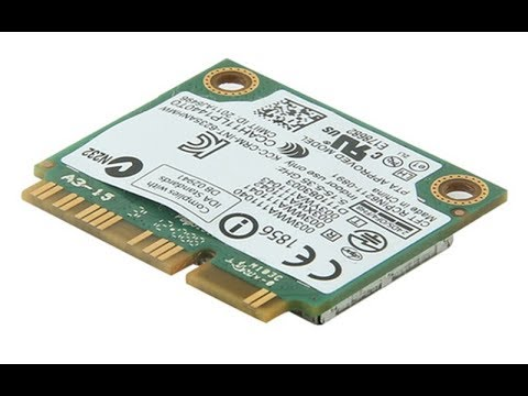 Mini PCI-E карта Intel Centrino 6235 622anhmw Dual Band 2,4Ггц/5Ггц 300Мбит 802.11a/b/g/n