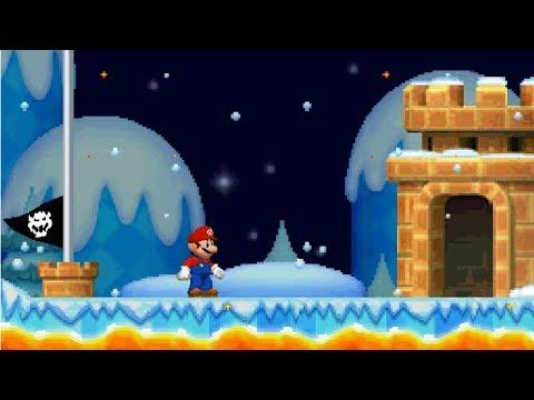 New Super Mario Bros DS Walkthrough - Part 5 - Moonview Glacier
