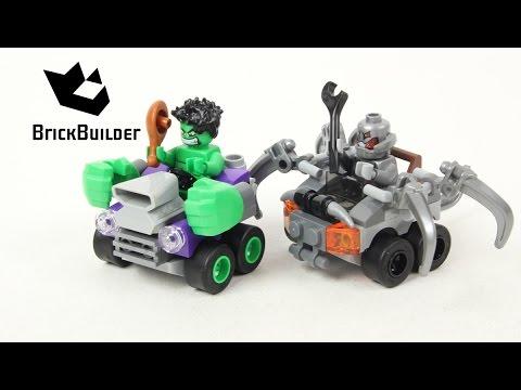 Vidéo LEGO Marvel 76066 : Hulk contre Ultron