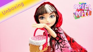 Ever After High Cerise Hood Puppe-  Rotkäppchens Tochter Märchenfiguren - Fairytail Doll Unboxing