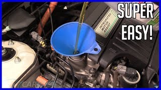 Oil Change Honda Civic 1.3L 2001-2005 HYBRID