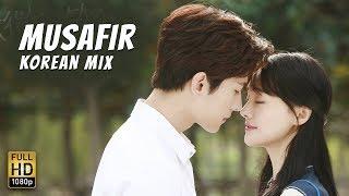 MUSAFIR Video Song Atif Aslam  || KOREAN MIX || Sweetiee Weds NRI
