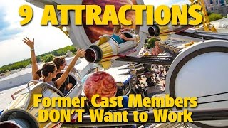 9 Attractions Cast Members Wouldn't Work At | DIS Unplugged Minisode