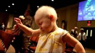 2 Year Old Catches the Holy Ghost in Church