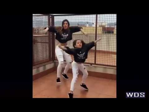 Mother And Daughter Dancing - Ed Sheeran - Shape of You