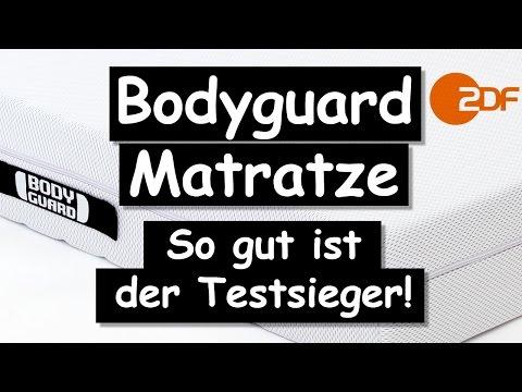 Bodyguard Matratze: So gut ist der Testsieger wirklich! Der ZDF & Stiftung Warentest Test