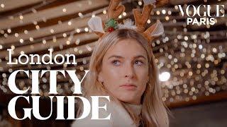 Christmas In London: Camille Charrières 7 Best Addresses | City Guide | Vogue Paris