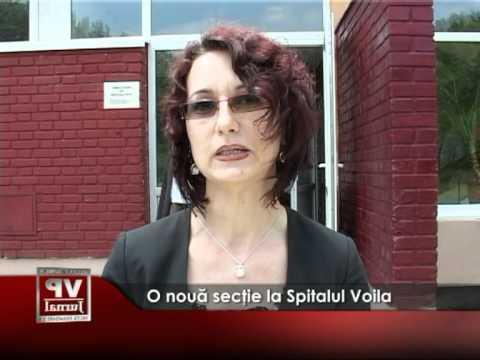 O nouă secţie la Spitalul Voila