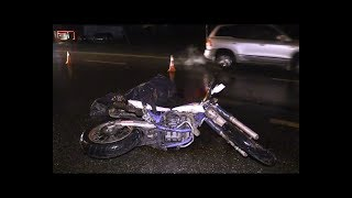 В смертельном ДТП мотоциклист погиб под колесами КАМАЗа
