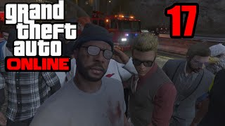 GTA 5 Online PS4 - 1ST PERSON FREE FOR ALL! (GTA V Online PS4)   Part 17