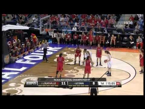 2013 NCAA Women's Basketball Championship. Final. Louisville - Connecticut