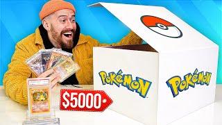 I Bought A $5,000 Vintage Pokemon Mystery Box!