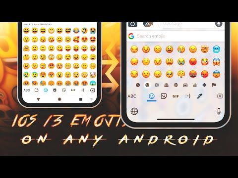 iOS 13 Emojis On Any Android (WITHOUT ROOT) || iPhone 11 Emojis For Android