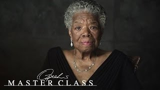 """Dr. Maya Angelou: """"Be a Rainbow in Someone Else's Cloud""""   Oprah's Master Class   OWN"""