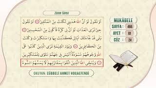 Cübbeli Ahmet Hocaefendi ile Mukâbele 24. Cüz