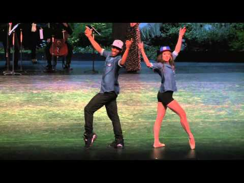 Tiler Peck dances with Lil Buck & Sergei Polunin – 2013 Vail Int'l Dance Festival