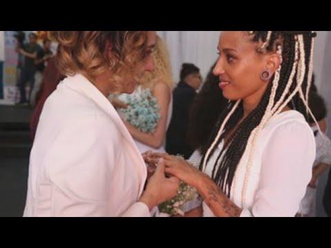 Unas 38 parejas gais se casan en Brasil en una boda colectiva