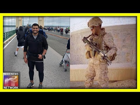 Marine Walks More than 800 MILES to Raise Awareness for Our American Heroes
