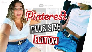 Recreating Pinterest Outfits (but make it plus size)