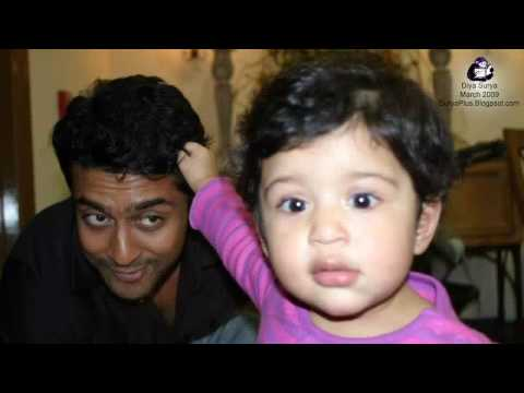 HD Photo album (2009) of Surya Jyothika and Daughter Diya