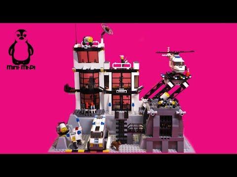 Vidéo LEGO City 7237 : Le poste de police