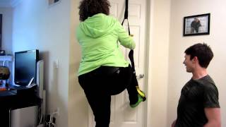 GloZell With Josh Skinner and the TRX
